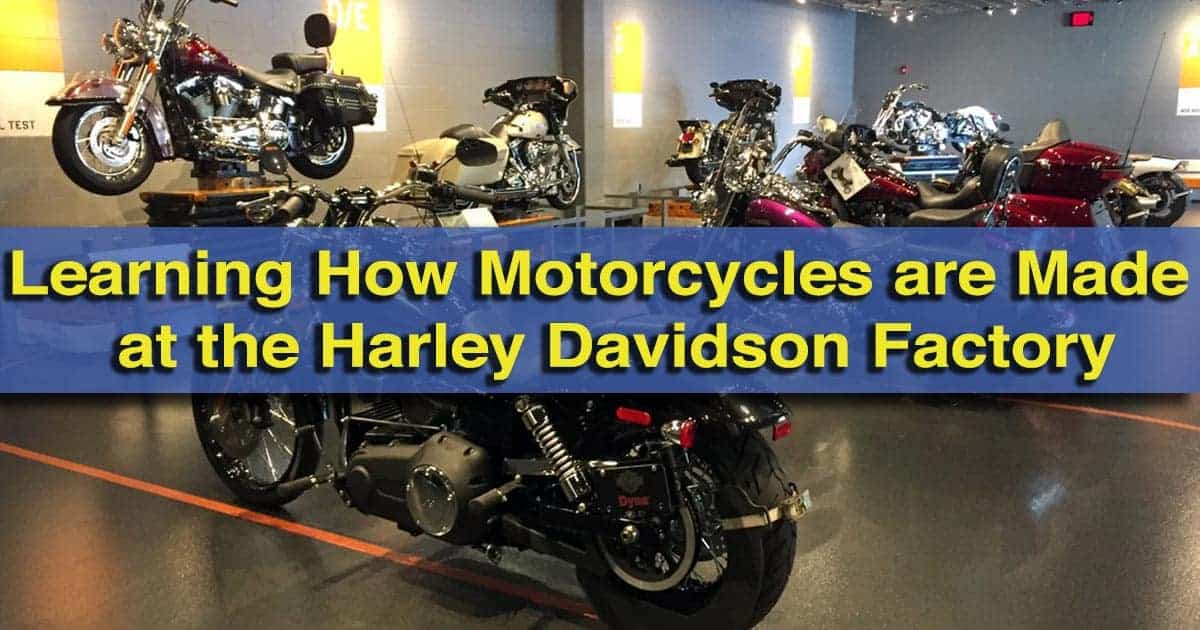 Harley Davidson Factory Tour in York, Pennsylvania
