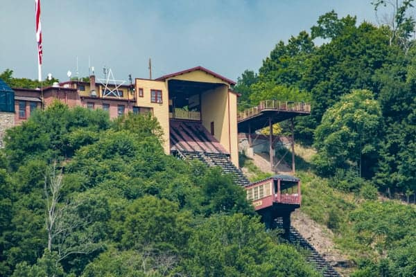 Johnstown Inclined Plane in Pennsylvania