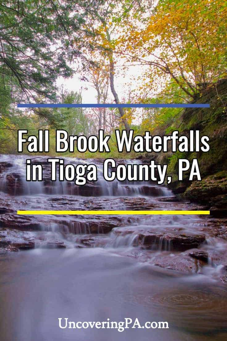Pennsylvania Waterfalls: How to Get to Fall Brook Falls in Tioga County
