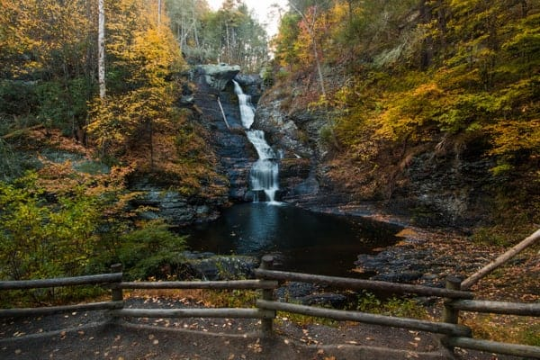Places to visit before you die in Pennsylvania: Delaware Water Gap National Recreation Area