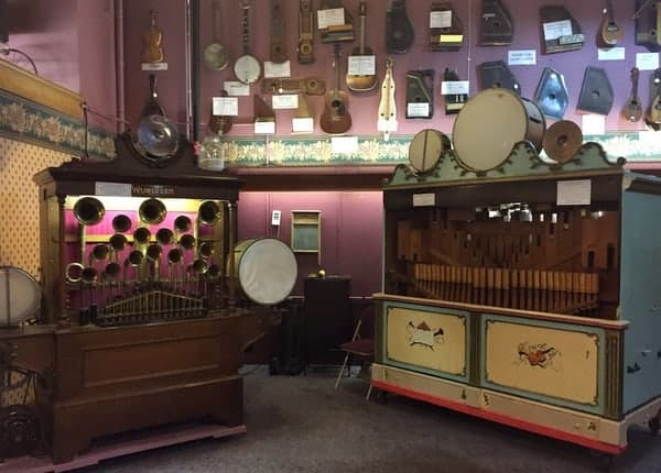Things to do in Venango County PA: The DeBence Antique Music World in Franklin, Pennsylvania.