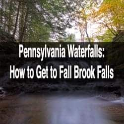 How to get to Fall Brook Falls