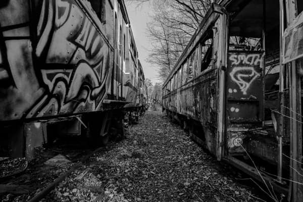 Touring the Abandoned Trolley Graveyard in PA