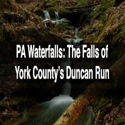 Duncan Run Waterfalls