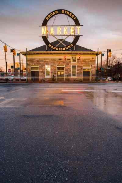 Best spots for photos in Harrisburg, PA: Broad Street Market