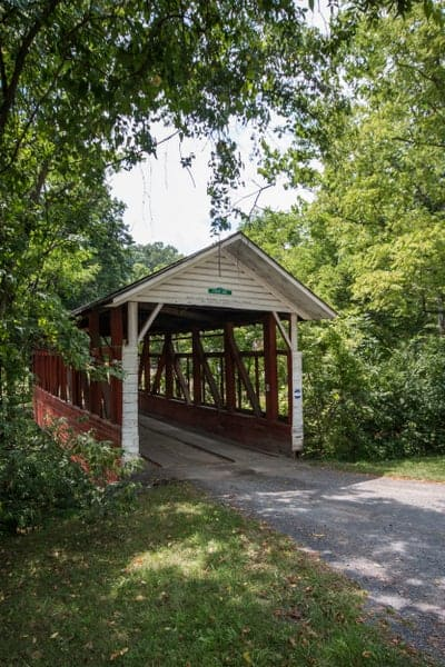 How to get to Fischtner Covered Bridge in Bedford County, Pennsylvania