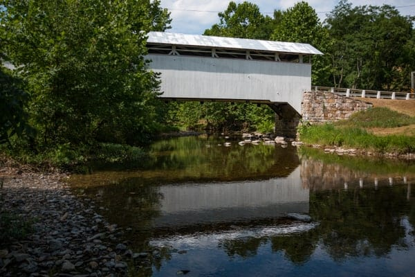Hewitt Covered Bridge in Bedford County, PA