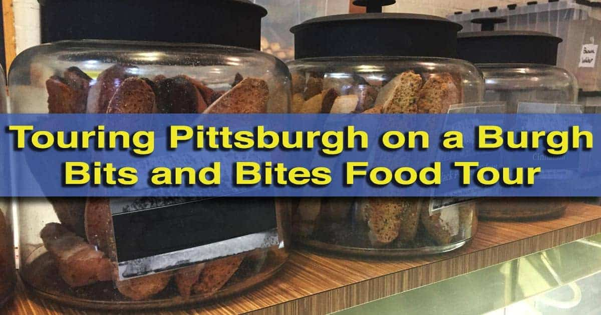 Burgh Bites and Bites Food Tour in Pittsburgh, Pennsylvania