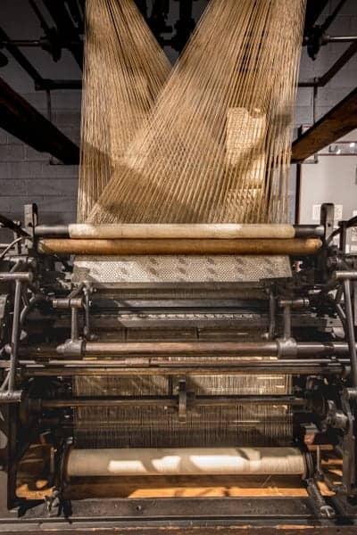 Loom at the Anthracite Heritage Museum in Scranton, Pennsylvania.