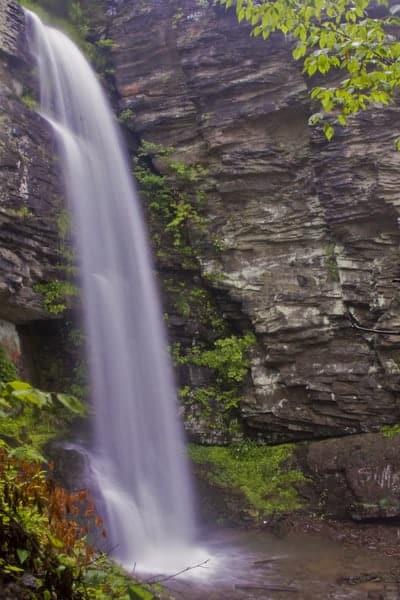 Falling Springs Falls near Pittston, Pennsylvania