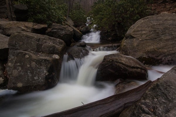Hiking Glen Onoko near Jim Thorpe, PA