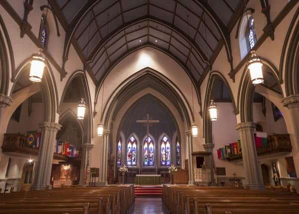 Beautiful churches in Pittsburgh: Trinity Episcopal Cathedral.