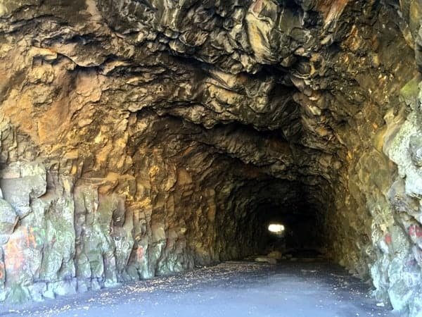 Turn Hole Tunnel in Lehigh Gorge State Park.