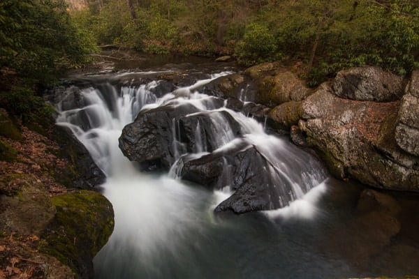 Wild Creek Falls in Beltzville State Park is only 80 minutes from Philadelphia
