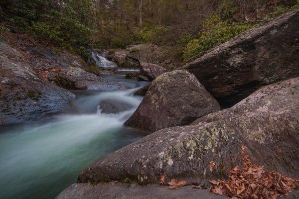 Wild Creek in Beltzville State Park in the Pocono Mountains.