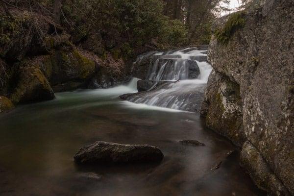 Wild Creek Falls in Beltzville State Park, Carbon County, Pennsylvania