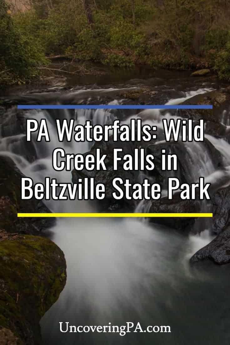 Pennsylvania Waterfalls: Visiting Wild Creek Falls in Beltzville State Park