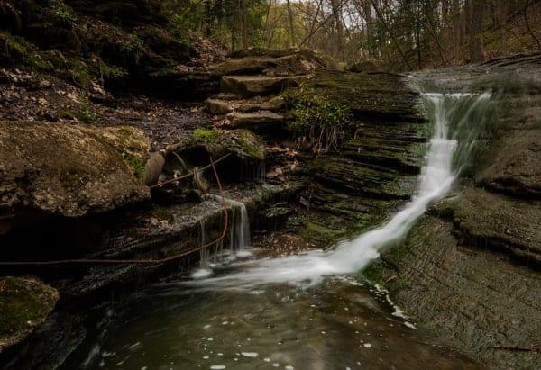 Fall Run Park Waterfalls near Pittsburgh