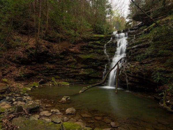 Waterfalls near Pittsburgh, Pennsylvania: Yoder Falls