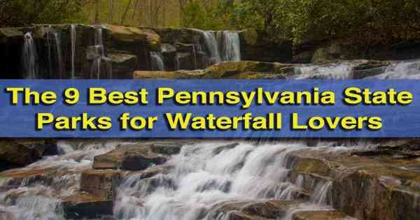 Top Posts of 4th Year: State Parks for Waterfalls