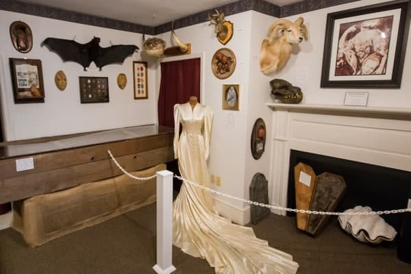 Inside the Gettysburg Dime Museum in Adams County, Pennsylvania