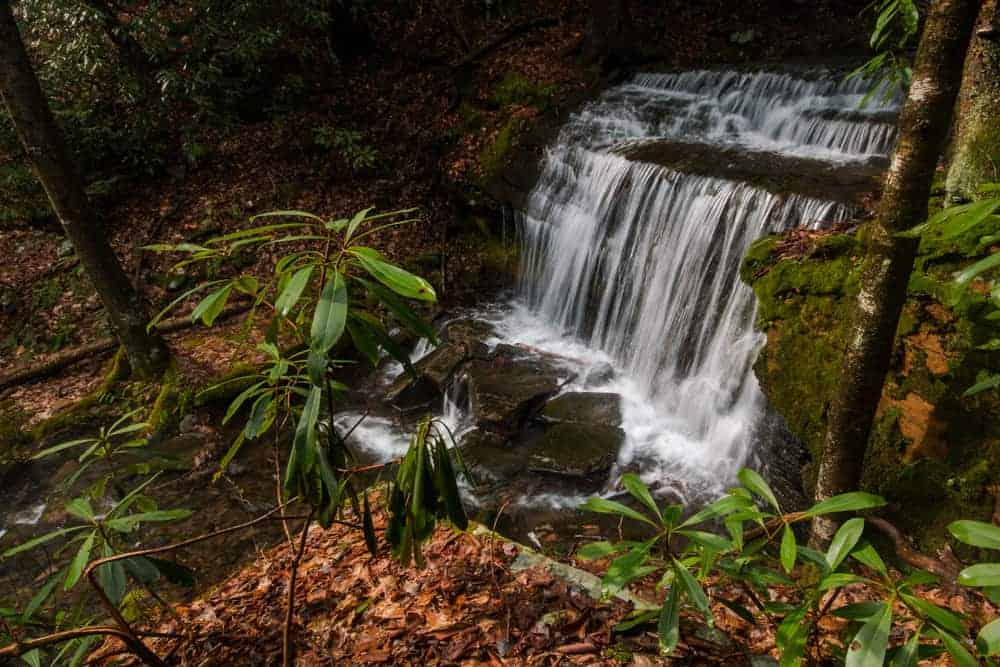 How to get to Kyler Fork Falls in Centre County, Pennsylvania