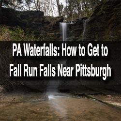 Fall Run Falls in Pittsburgh
