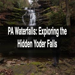 Hiking to Yoder Falls