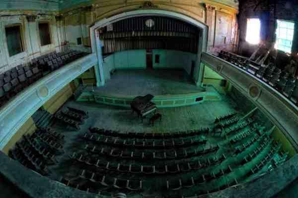 Auditorium at J.W. Cooper School in PA