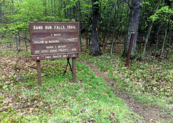 Hiking the Mid State Trail to Sand Run Falls in Tioga State Forest