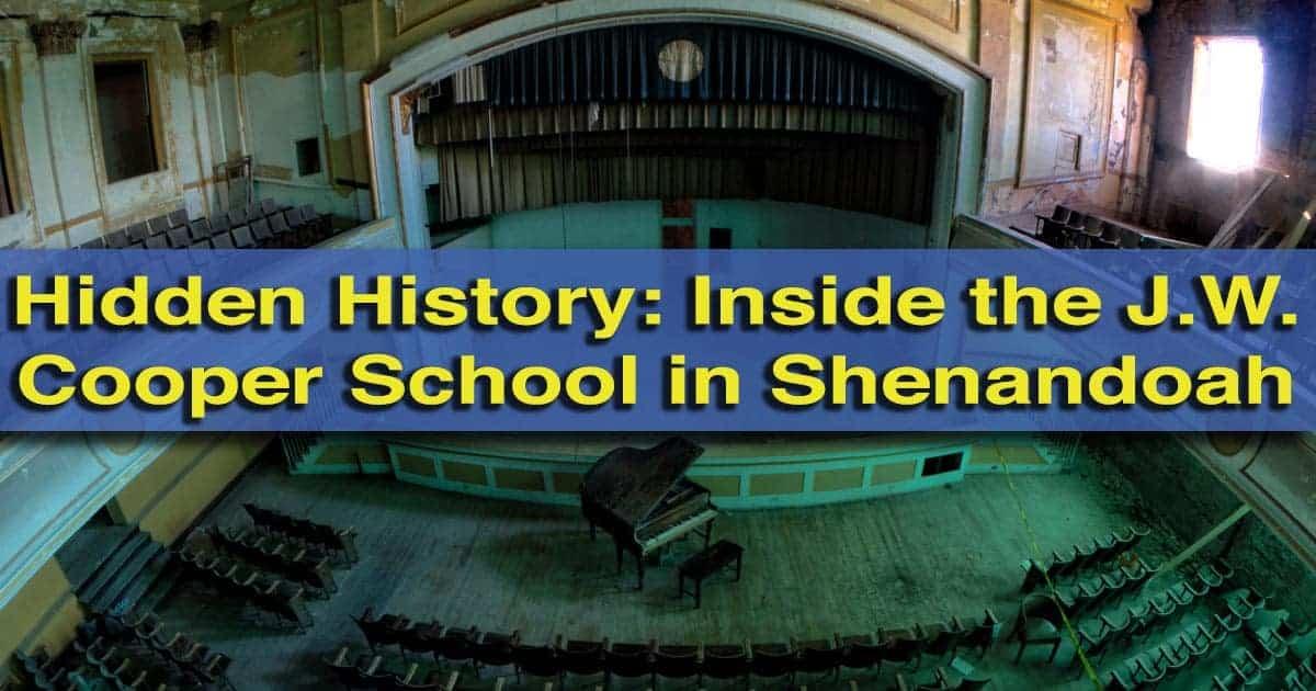 Inside JW Cooper School in Shenandoah, Pennsylvania