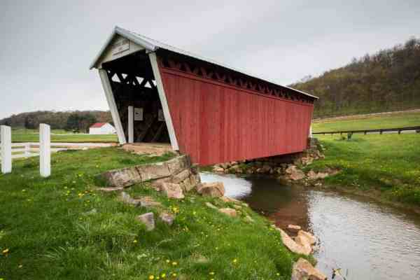 How to get to Harmon's Covered Bridge in Indiana County, Pennsylvania.