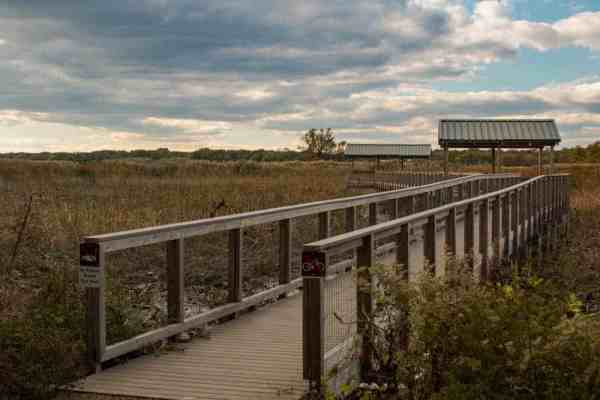 Hiking during hunting season in Pennsylvania: Heinz National Wildlife Refuge
