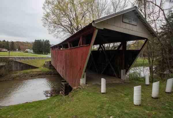 Kintersburg Covered Bridge in Indiana County, PA