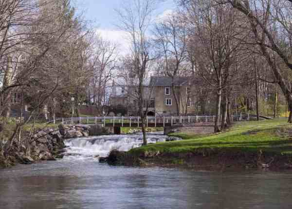 How to get to Letort Falls in Carlisle, Pennsylvania