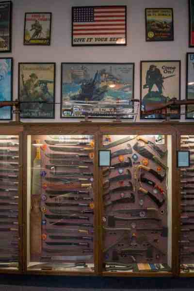 Visiting the American Military Edged Weaponry Museum in Intercourse, PA