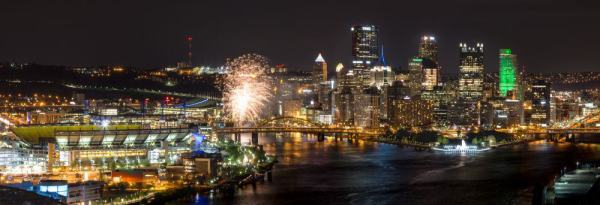Things to do in Pennsylvania in November: Light Up Night in Pittsburgh