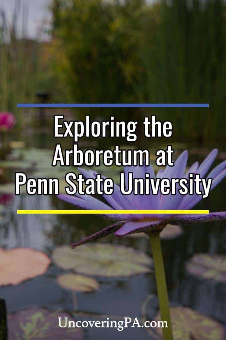 Exploring the Arboretum at Penn State in State College, Pennsylvania