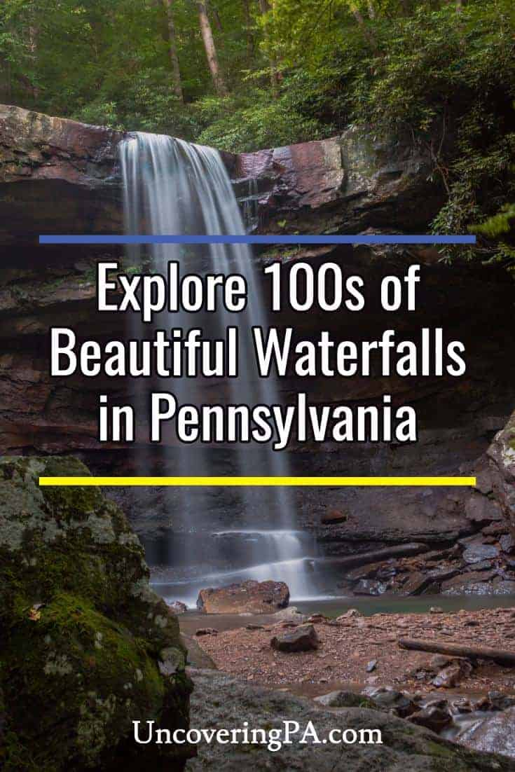 Uncover hundreds of beautiful waterfalls in Pennsylvania on UncoveringPA