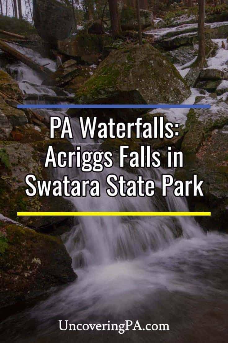 Exploring Acriggs Falls and the hidden gems of Swatara State Park in Pennsylvania.