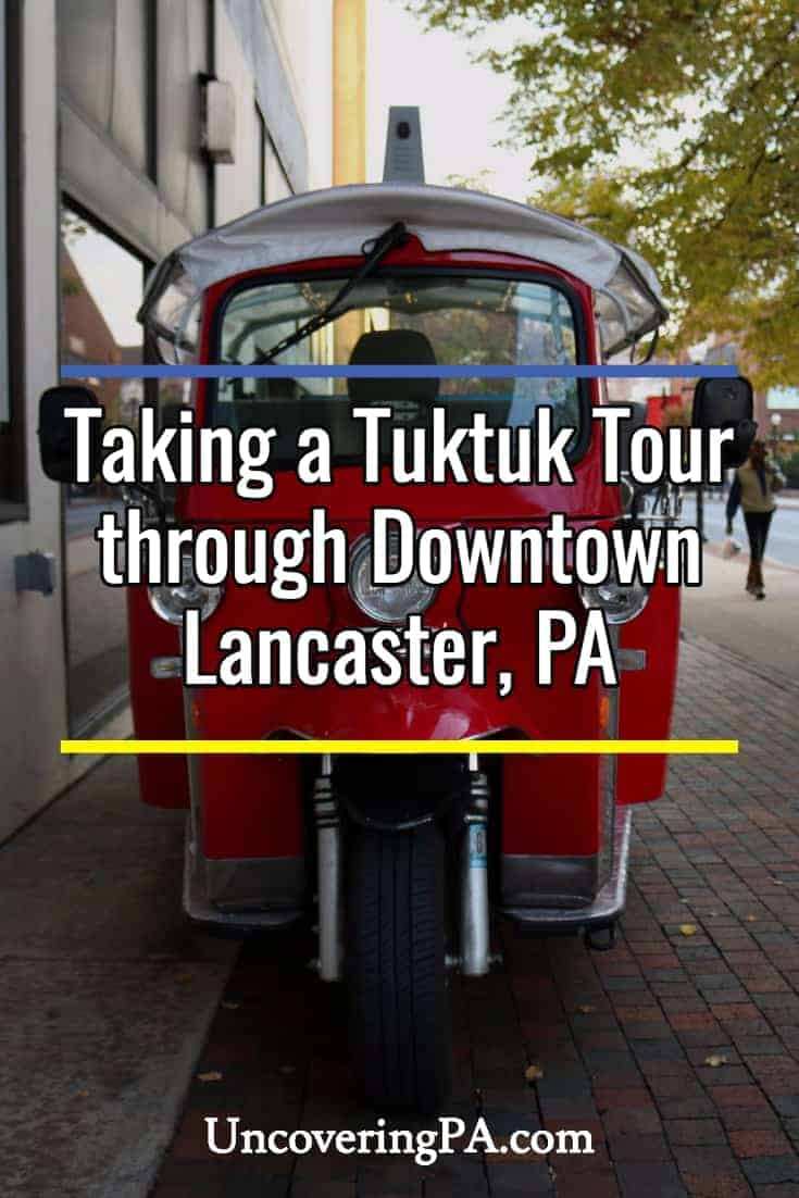 Spoil Your Dinner and More with Tuktuk Lancaster