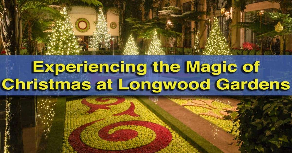 Christmas At Longwood Gardens In Kennett Square, Pennsylvania