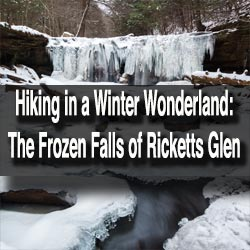 Ricketts Glen Winter Hiking