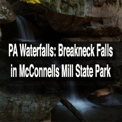 Breakneck Falls in McConnells Mill State Park
