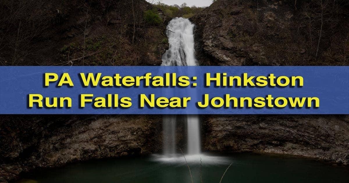 Hinkston Run Falls near Johnstown, Pennsylvania