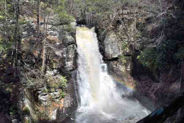 Bushkill Falls in the Delaware Water Gap