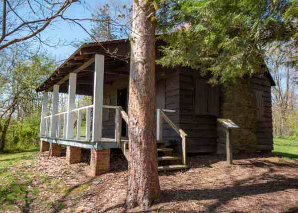 Hungerford Cabin in Raccoon Creek State Park near Pittsburgh, PA