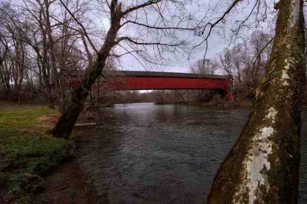 How to get to Wertz Covered Bridge near Reading, PA