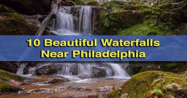 Waterfalls near Philadelphia, PA