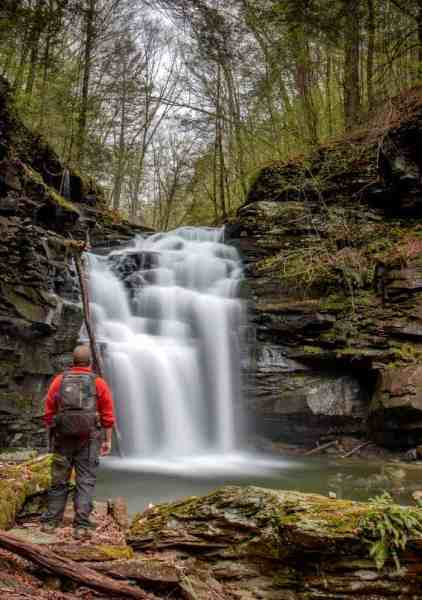 Big Falls in State Game Lands 13